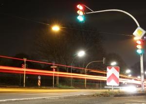 Eine Ampelanlage soll für einen reibungslosen Verkehrsfluss sorgen