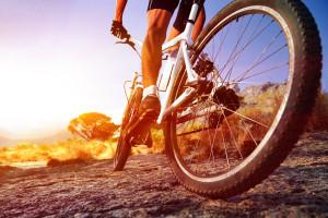 Es ist keine hohe Geschwindigkeit mit dem Fahrrad notwendig, um eine gute Zeit zu haben.