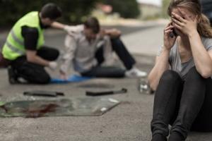 Der Unfallhergang kann mittels Skizze gezeichnet werden. Beachten Sie auch Straßenschilder und Ampeln.
